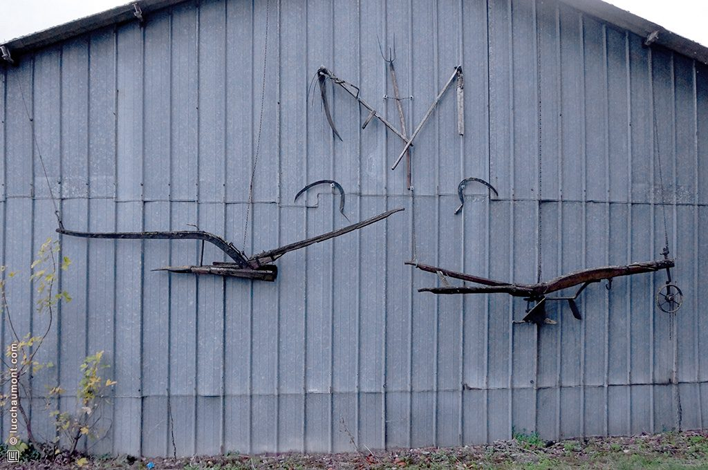 outils agricoles anciens